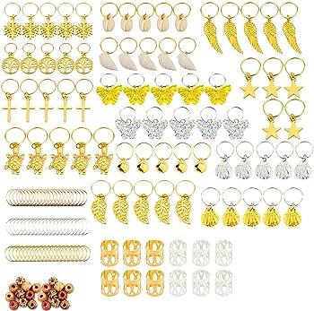 Loc Jewelry Leaf on Copper Gold or Bronze Coil Dreadlock Cuff Hair Jewelry Braids Dreads Locs Braid Jewelry Sisterloc Silver