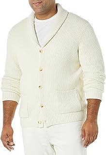 Amazon Essentials Men's Long-Sleeve Soft Touch Shawl Collar Cardigan