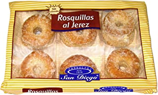 Productos San Diego Rosquillas al Jerez - Paquete de 12 x 175 gr - Total: 2100 gr