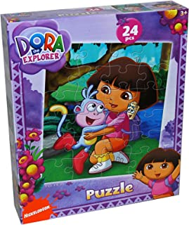 Dora the Explorer 24-Piece Jigsaw Puzzle, Styles Vary