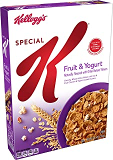 (Discontinued Version) Kellogg's Special K, Breakfast Cereal, Fruit and Yogurt, Low Fat, 12.5oz Box