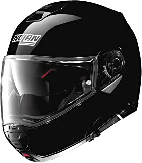 Nolan N100-5 Solid Helmet (Black, Medium)
