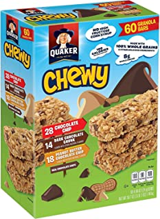 Quaker Chewy Granola Bars, Variety Pack (60 ct.)