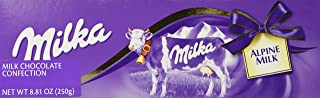 Milka Alpine Milk Chocolate Large (250g)
