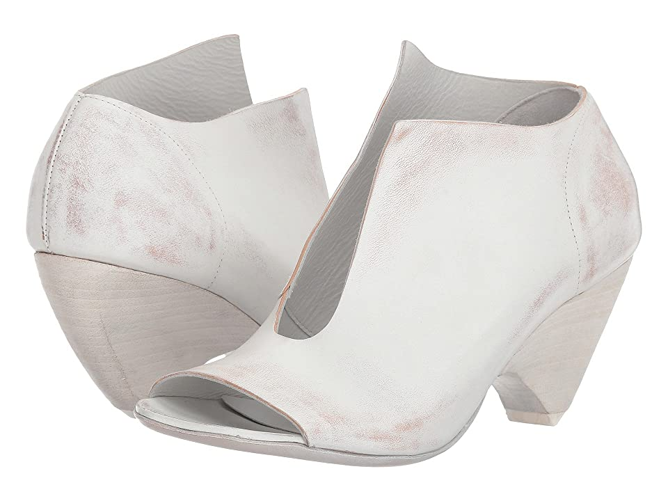 Marsell Split Front Heel (White) Women