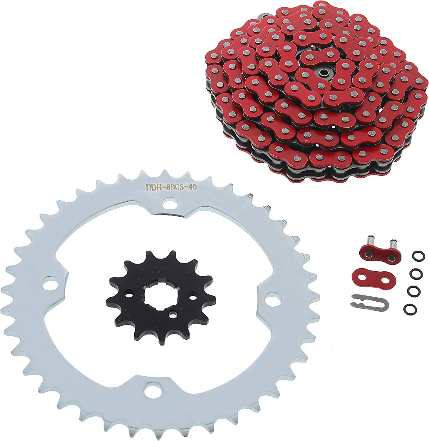 Oakland Mall 2004-2007 fits Yamaha YFM350 350 O-Ring Red Chain Silve Raptor 2021 spring and summer new