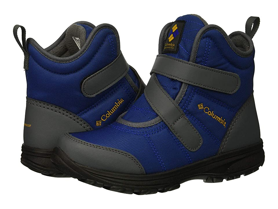 Columbia Kids Fairbankstm (Little Kid/Big Kid) (Azul/Squash) Girls Shoes