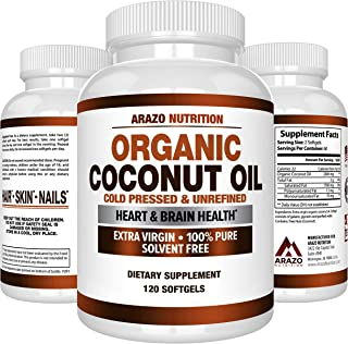 Best nu therapy coconut oil softgels Reviews