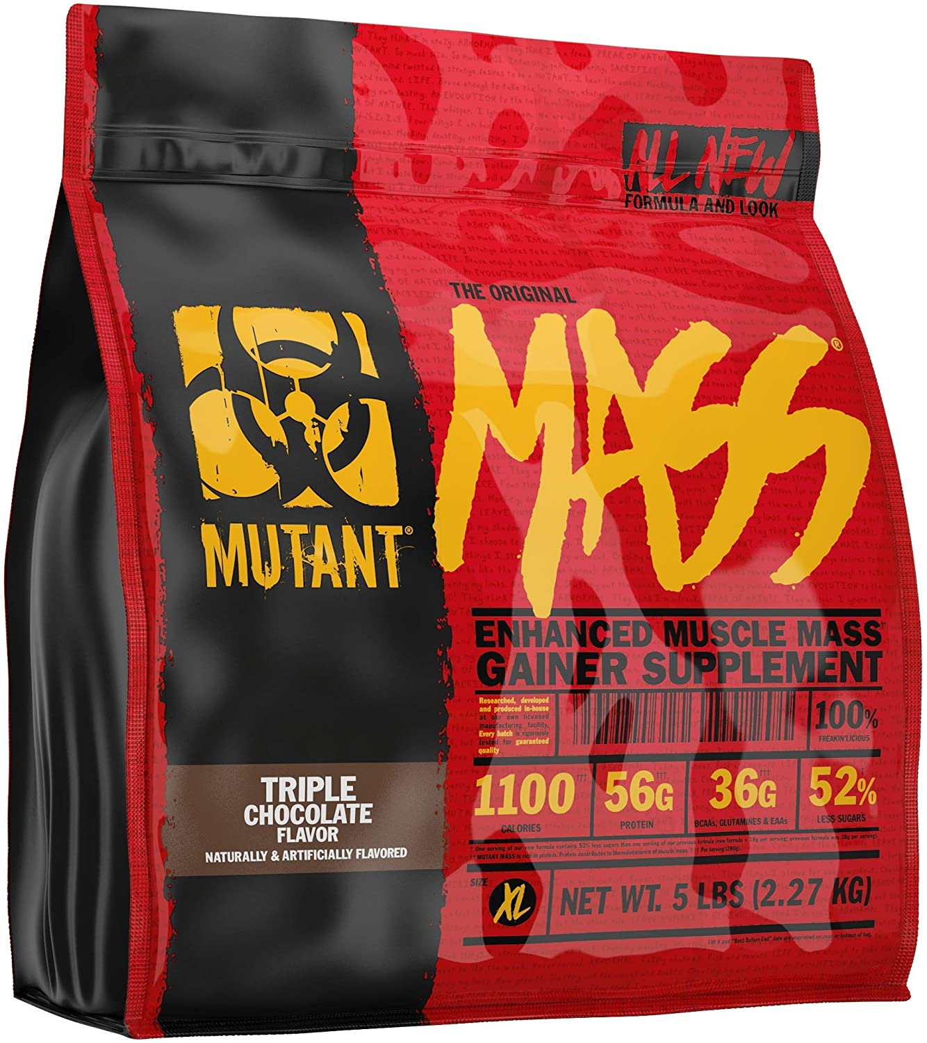 Mutant Directly managed store Mass Weight Gainer Easy-to-use Protein Build Siz – Muscle Powder