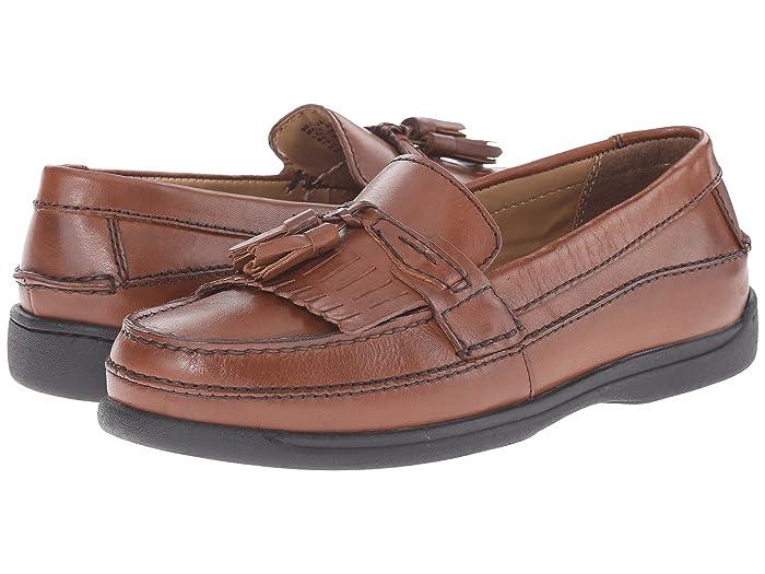 Dockers  Sinclair Kiltey Tassel Loafer (Antique Brown) Mens Slip-on Dress Shoes