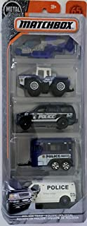 Matchbox 2018 Police Team 1:64 Scaled 5-Pack
