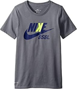 Nike Kids - Dry Baseball Training T-Shirt (Little Kids/Big Kids)