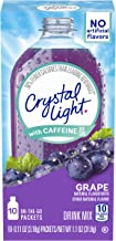 Sponsored Ad - Crystal Light Sugar-Free Grape Energy Drink Mix With Caffeine (120 On-The-Go Packets, 12 Packs Of 10)
