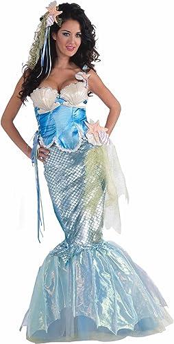 tomar hasta un 70% de descuento Forum Novelties Mermaid Adult Adult Adult Costume with Corset Top X-Small Small  los clientes primero