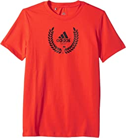 adidas Golf Kids - Graphic T-Shirt (Big Kids)