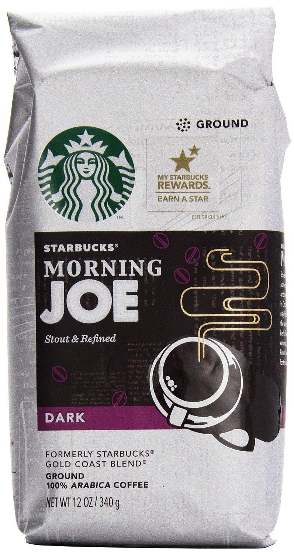 Starbucks Gold Coast Ranking TOP5 Morning Joe Dark P Ounce 12 Coffee Ground online shopping
