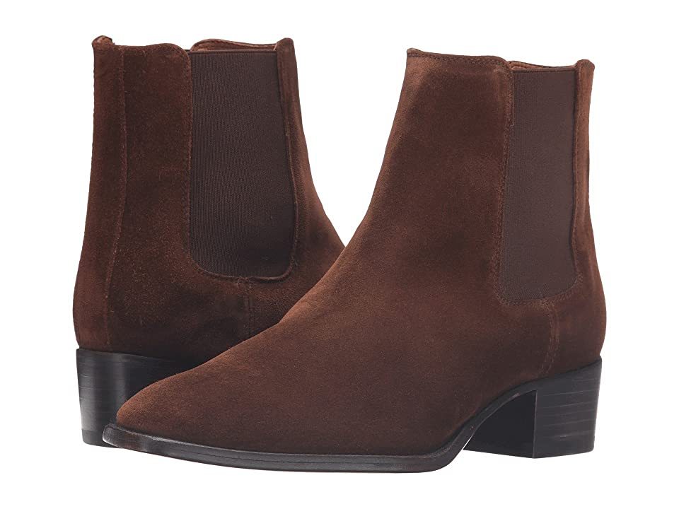 Frye Dara Chelsea (Brown Oiled Suede) Women