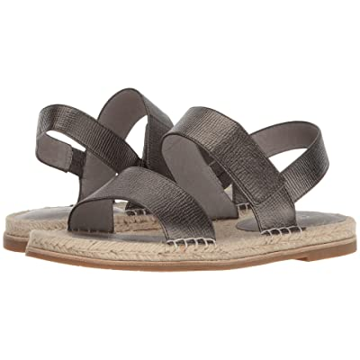 Eileen Fisher Max (Pewter Matte Matallic Washed Leather) Women