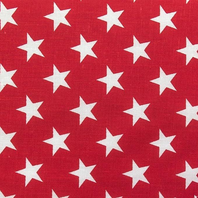 """Freedom Stars Red 18/"""" x 18/"""" Napkins 1 Dozen"""