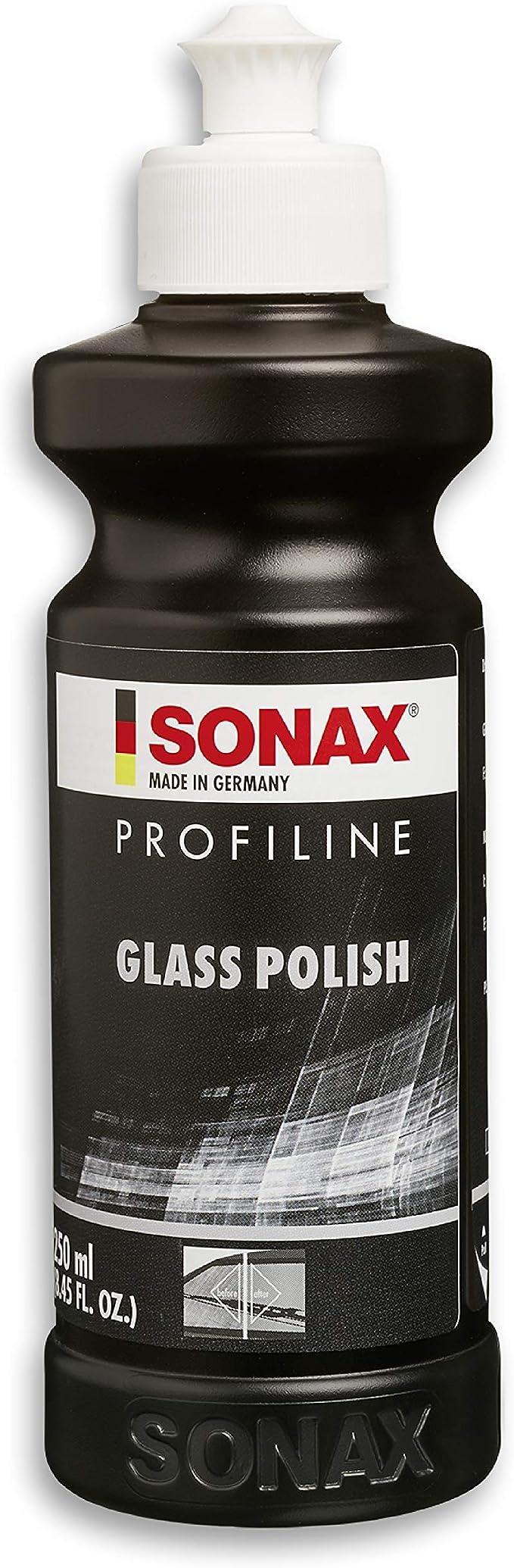 1558 opinioni per SONAX PROFILINE GlassPolish (250 ml)- lucidante per vetri rimuove graffi