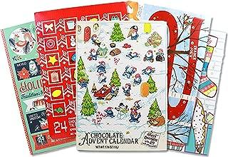 Trader Joe's 2018 Advent Calendar 24 Milk Chocolates Bundle Assortment, 1.76 oz. (Pack of 5)