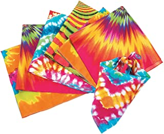 Psychedelic Bandanas - Apparel Accessories - Hats - Bandannas - 12 Pieces