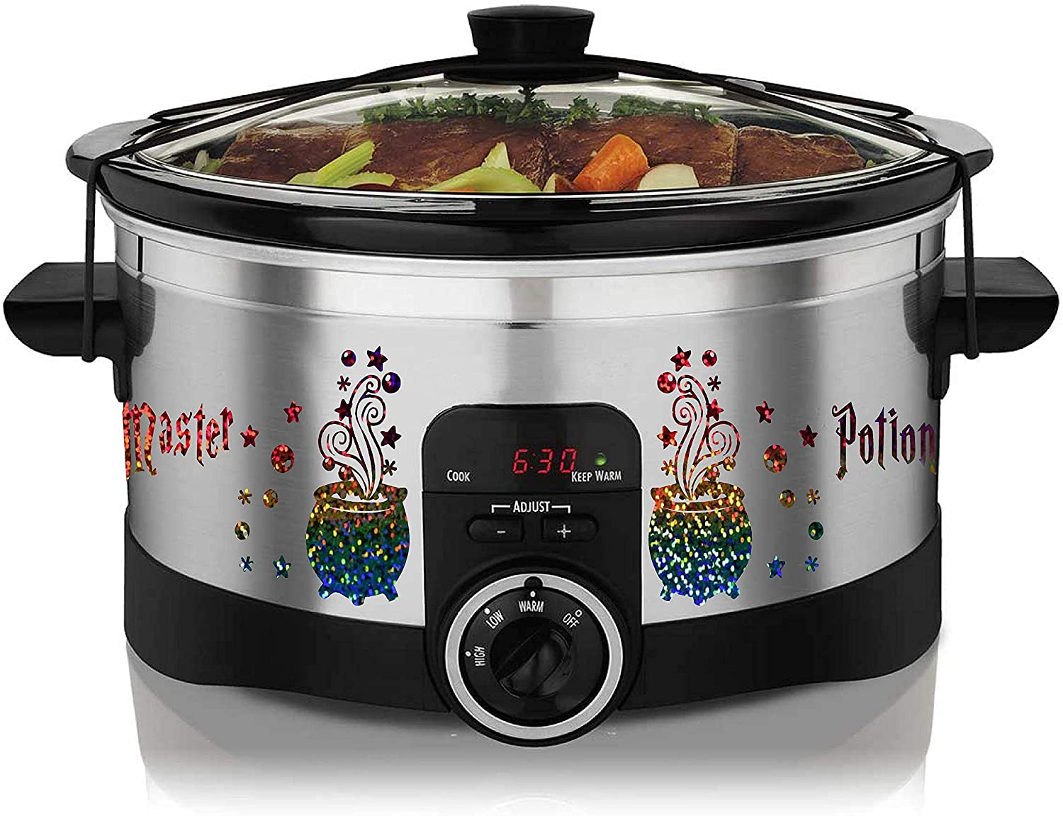Potions Master Decal Sticker Skin for Genuine Free Shipping Slow Max 74% OFF 8-9 Cooker Quart Ho