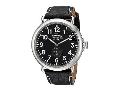 Shinola Detroit The Runwell 47mm 10000012 (Black/Black) Watches