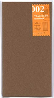 Midori Traveler's Notebook (Refill 002) Grid