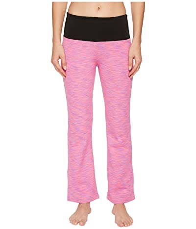 Independence Day Clothing Co Sensory Friendly Two Way Flare Yoga Pants (Pink/Black) Women