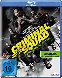 Criminal Squad (2-Disc-Blu-ray incl. dt. und US-Kinofassung & US Unrated Fassung) [Blu-ray] [Alemania]