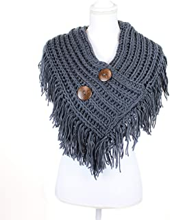 Best collar scarf with buttons Reviews