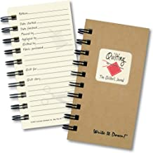product image for Quilting, The Quilter's Journal - MINI Kraft Hard Cover (Guided format to help keep track of projects!)