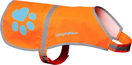 SafetyPUP XD - Protect Your Best Friend. Our Hi-Vis Fluorescent, Reflective Dog Vest Provides Crucial Visibility Helping You Safeguard Your Pet from Cars & Hunting Accidents, On or Off Leash