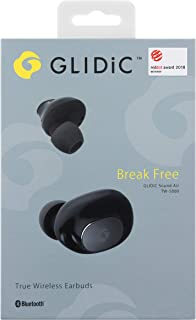 GLIDiC 完全独立型 ワイヤレスイヤホン Break Free Sound Air TW-5000/BK ブラック SB-WS54-MRTW/BK ※パッケージUS版