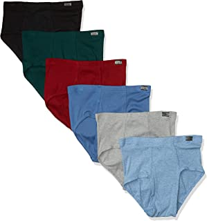 Men's 6-Pack Tagless No Ride Up Briefs with ComfortSoft Waistband