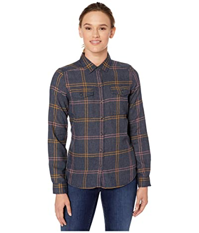 Toad&Co Re-Form Flannel Shirt (True Navy) Women