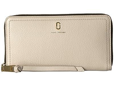 Marc Jacobs Standard Continental Wallet (Cream) Wallet Handbags