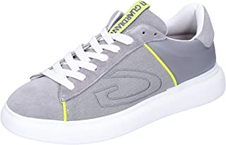 GUARDIANI Sneaker Uomo Pelle Scamosciata Grigio