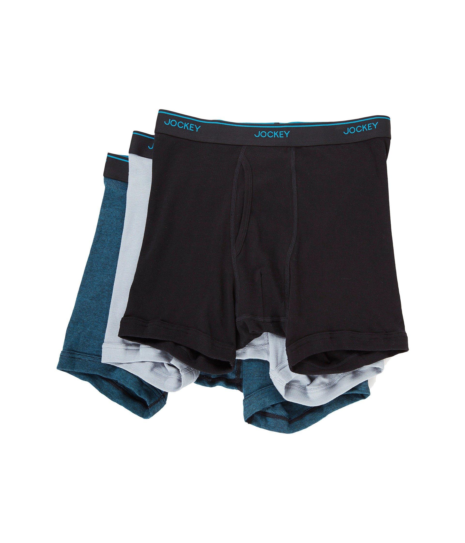 Line blue end silver Boxer End Staycool On Jockey Black Brief zP1xq8