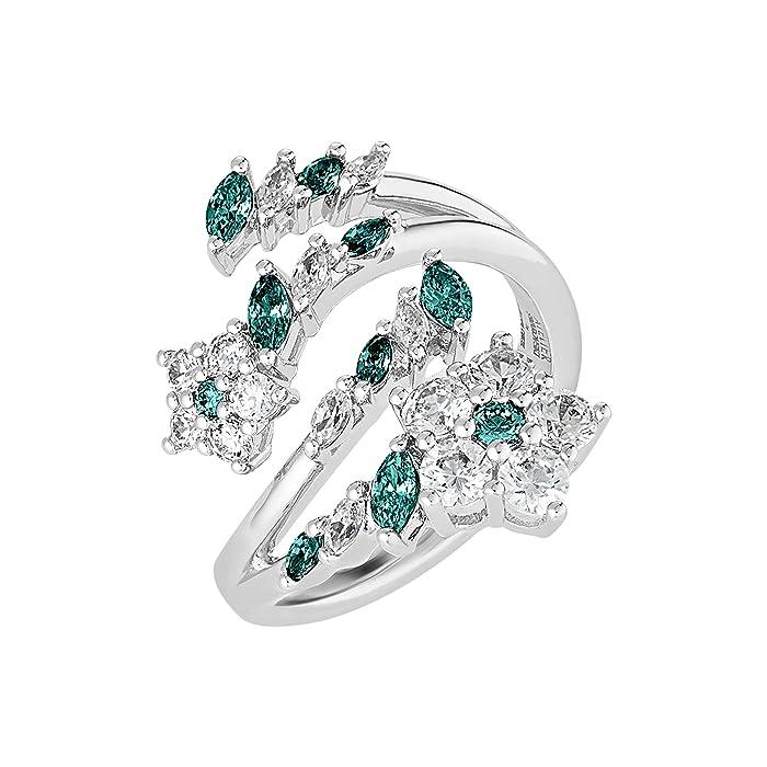 Swarovski  Botanical Ring (CZ Emerald) Ring