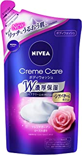 Japan Health and Personal Care - Nivea cream Care Body Wash French Rose Refill 360mlAF27