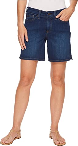 NYDJ Jenna Shorts w/ Mini Side Slit in Cooper