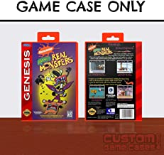 Sega Genesis Aaahh! Real Monsters - Case
