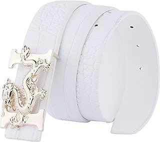 louis vuitton white belt silver buckle