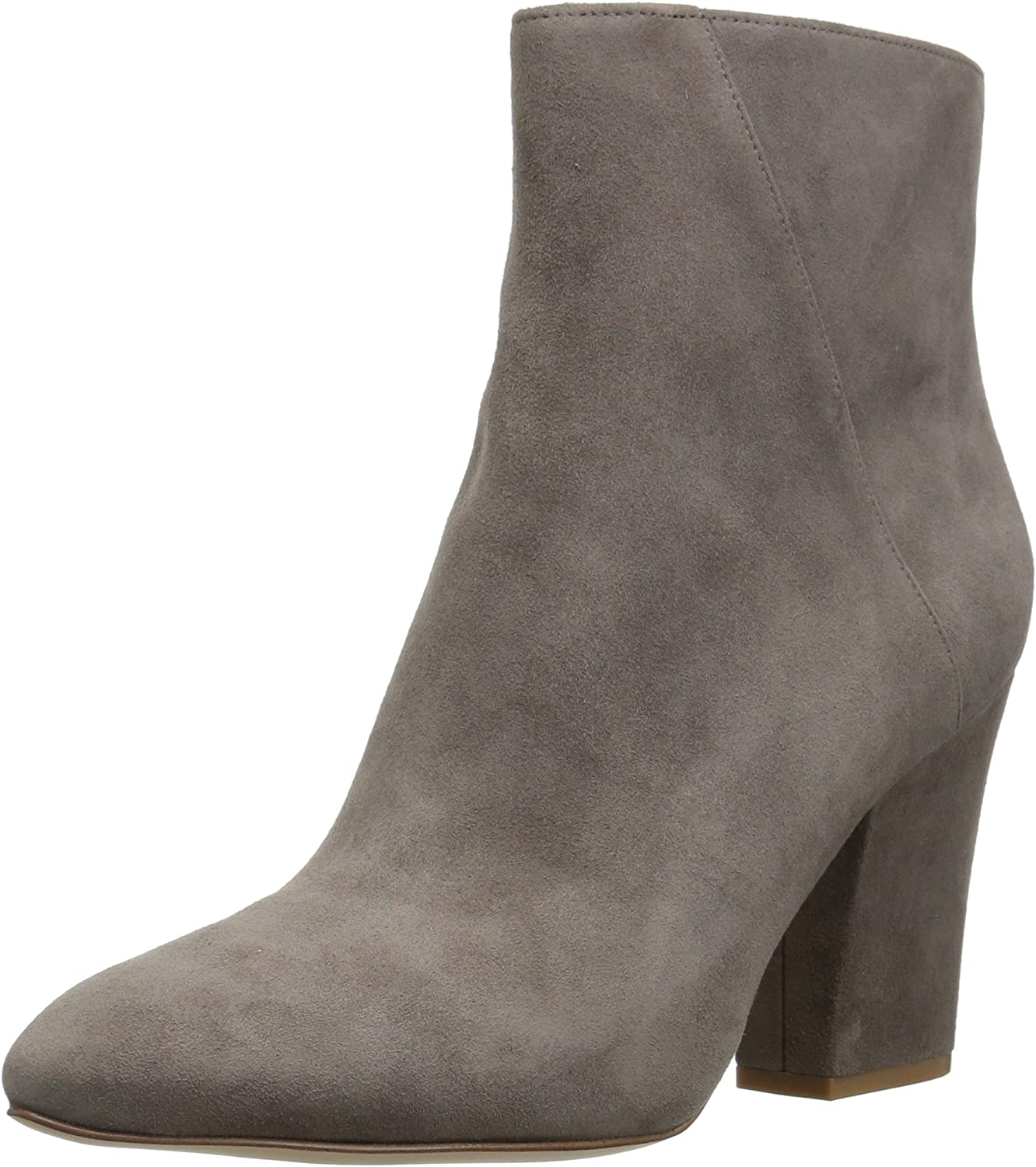 Nine West Womens Savitra Suede Ankle Boot