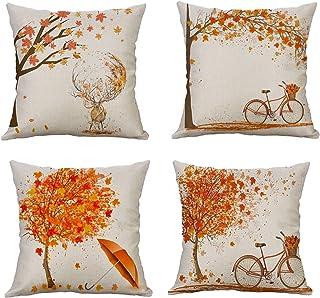 Amazon.es: cojines naranja sofas Cojines y accesorios