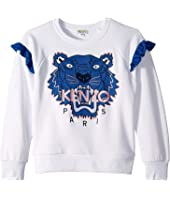 Kenzo Kids - Tiger Fringe Sweatshirt (Big Kids)