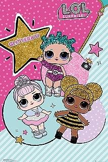 L.O.L Surprise - Poster (LOL - Glitterati - The Girls) (Size: 24 inches x 36 inches)
