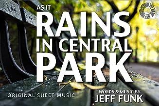 As It Rains In Central Park: Original Sheet Music